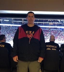Jason Cyrus attended Arizona Coyotes vs. Buffalo Sabres - NHL on Oct 13th 2018 via VetTix