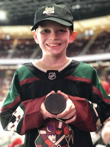 Jason attended Arizona Coyotes vs. Buffalo Sabres - NHL on Oct 13th 2018 via VetTix
