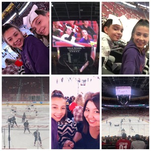 Gleim attended Arizona Coyotes vs. Buffalo Sabres - NHL on Oct 13th 2018 via VetTix