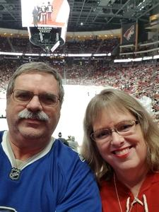 George attended Arizona Coyotes vs. Buffalo Sabres - NHL on Oct 13th 2018 via VetTix