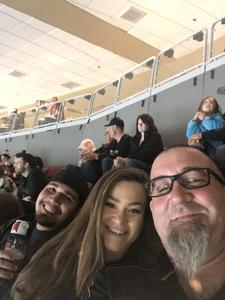 Gerald attended Arizona Coyotes vs. Buffalo Sabres - NHL on Oct 13th 2018 via VetTix