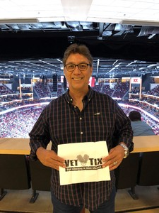 Angel attended Arizona Coyotes vs. Buffalo Sabres - NHL on Oct 13th 2018 via VetTix