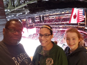 Billy attended Arizona Coyotes vs. Buffalo Sabres - NHL on Oct 13th 2018 via VetTix