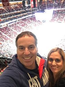 Eric attended Arizona Coyotes vs. Buffalo Sabres - NHL on Oct 13th 2018 via VetTix