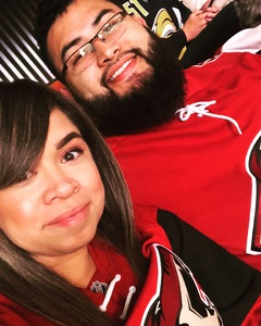Daniel attended Arizona Coyotes vs. Buffalo Sabres - NHL on Oct 13th 2018 via VetTix