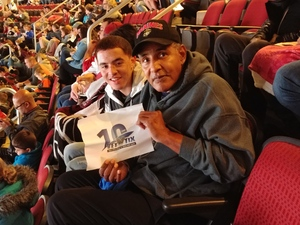 William attended Arizona Coyotes vs. Buffalo Sabres - NHL on Oct 13th 2018 via VetTix