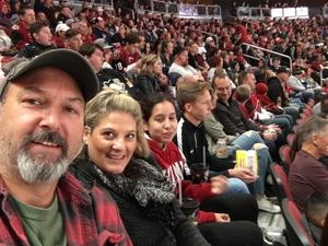 Michael attended Arizona Coyotes vs. Buffalo Sabres - NHL on Oct 13th 2018 via VetTix