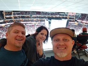 Ward attended Arizona Coyotes vs. Buffalo Sabres - NHL on Oct 13th 2018 via VetTix
