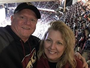 Todd attended Arizona Coyotes vs. Buffalo Sabres - NHL on Oct 13th 2018 via VetTix