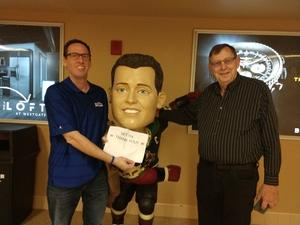Paul attended Arizona Coyotes vs. Buffalo Sabres - NHL on Oct 13th 2018 via VetTix