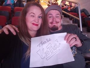 Hannah attended Arizona Coyotes vs. Buffalo Sabres - NHL on Oct 13th 2018 via VetTix
