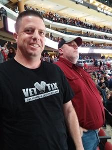 israel attended Arizona Coyotes vs. Buffalo Sabres - NHL on Oct 13th 2018 via VetTix