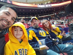 Christopher attended Arizona Coyotes vs. Buffalo Sabres - NHL on Oct 13th 2018 via VetTix
