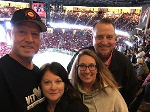 Gary attended Arizona Coyotes vs. Buffalo Sabres - NHL on Oct 13th 2018 via VetTix