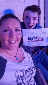 Jolene attended Old Dominion Happy Endings World Tour on Oct 4th 2018 via VetTix