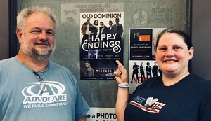 Paula katie attended Old Dominion Happy Endings World Tour on Oct 4th 2018 via VetTix