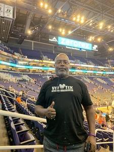 DECARLO attended Phoenix Suns vs. Portland Trail Blazers - NBA on Oct 5th 2018 via VetTix