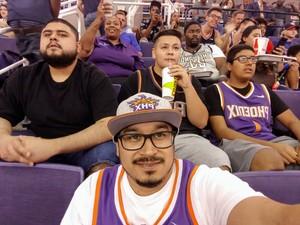 Anthony attended Phoenix Suns vs. Portland Trail Blazers - NBA on Oct 5th 2018 via VetTix
