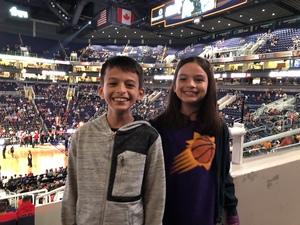 Alex attended Phoenix Suns vs. Portland Trail Blazers - NBA on Oct 5th 2018 via VetTix
