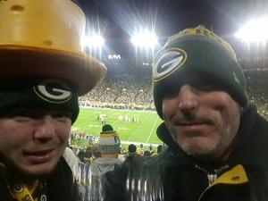 Gabe attended Green Bay Packers vs. San Francisco 49ers - NFL on Oct 15th 2018 via VetTix