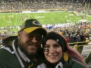 Drake attended Green Bay Packers vs. San Francisco 49ers - NFL on Oct 15th 2018 via VetTix