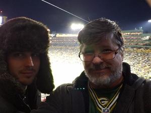 Kim attended Green Bay Packers vs. San Francisco 49ers - NFL on Oct 15th 2018 via VetTix