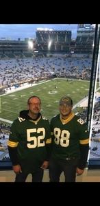 Daniel attended Green Bay Packers vs. San Francisco 49ers - NFL on Oct 15th 2018 via VetTix