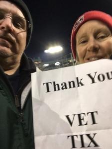 lane attended Green Bay Packers vs. San Francisco 49ers - NFL on Oct 15th 2018 via VetTix