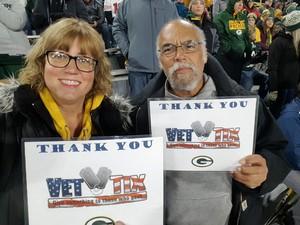 John attended Green Bay Packers vs. San Francisco 49ers - NFL on Oct 15th 2018 via VetTix