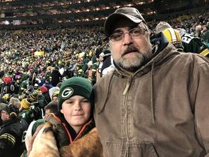 michael attended Green Bay Packers vs. San Francisco 49ers - NFL on Oct 15th 2018 via VetTix