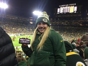 Alon attended Green Bay Packers vs. San Francisco 49ers - NFL on Oct 15th 2018 via VetTix