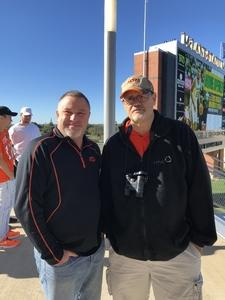 ml attended Baylor vs. Oklahoma State - NCAA Football on Nov 3rd 2018 via VetTix