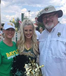 Gregory attended Baylor vs. Oklahoma State - NCAA Football on Nov 3rd 2018 via VetTix