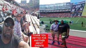 Barry attended University of Cincinnati Bearcats vs. Tulane Green Wave - NCAA Football on Oct 6th 2018 via VetTix