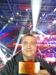 Frank attended Bellator 207 - Mitrione vs. Bader - World Grand Prix - Live Mixed Martial Arts on Oct 12th 2018 via VetTix