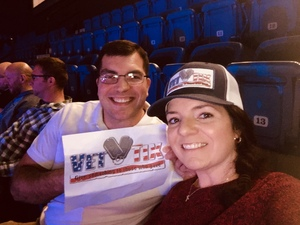 Tammi attended Bellator 207 - Mitrione vs. Bader - World Grand Prix - Live Mixed Martial Arts on Oct 12th 2018 via VetTix
