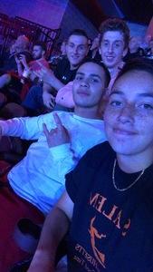 Jonathan attended Bellator 207 - Mitrione vs. Bader - World Grand Prix - Live Mixed Martial Arts on Oct 12th 2018 via VetTix