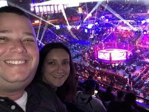 Eric attended Bellator 207 - Mitrione vs. Bader - World Grand Prix - Live Mixed Martial Arts on Oct 12th 2018 via VetTix