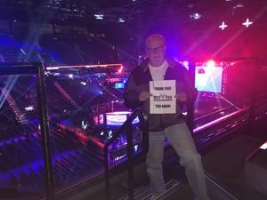 Doug attended Bellator 207 - Mitrione vs. Bader - World Grand Prix - Live Mixed Martial Arts on Oct 12th 2018 via VetTix
