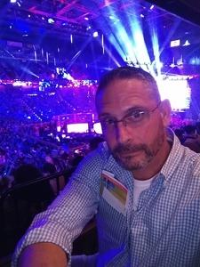 Richard attended Bellator 207 - Mitrione vs. Bader - World Grand Prix - Live Mixed Martial Arts on Oct 12th 2018 via VetTix
