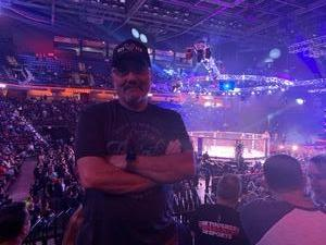 Victor attended Bellator 207 - Mitrione vs. Bader - World Grand Prix - Live Mixed Martial Arts on Oct 12th 2018 via VetTix