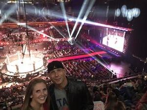 Lareto attended Bellator 207 - Mitrione vs. Bader - World Grand Prix - Live Mixed Martial Arts on Oct 12th 2018 via VetTix