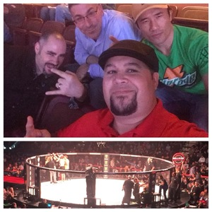 Mike attended Bellator 207 - Mitrione vs. Bader - World Grand Prix - Live Mixed Martial Arts on Oct 12th 2018 via VetTix
