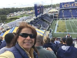 Jeffrey attended Navy Midshipmen vs. Houston Cougars - NCAA Football on Oct 20th 2018 via VetTix