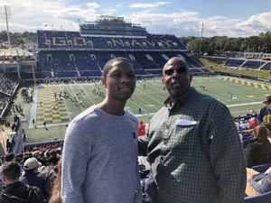 Adam attended Navy Midshipmen vs. Houston Cougars - NCAA Football on Oct 20th 2018 via VetTix