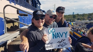 Jamie Pritchard attended Navy Midshipmen vs. Houston Cougars - NCAA Football on Oct 20th 2018 via VetTix