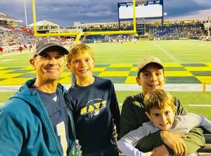 Jason attended Navy Midshipmen vs. Houston Cougars - NCAA Football on Oct 20th 2018 via VetTix