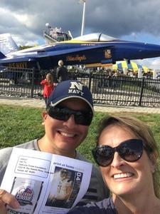 Sean and Shannon Valdez attended Navy Midshipmen vs. Houston Cougars - NCAA Football on Oct 20th 2018 via VetTix
