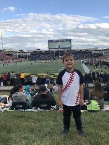 Vinessa attended Navy Midshipmen vs. Houston Cougars - NCAA Football on Oct 20th 2018 via VetTix