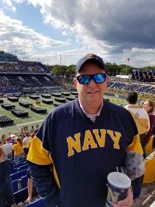 Tim attended Navy Midshipmen vs. Houston Cougars - NCAA Football on Oct 20th 2018 via VetTix